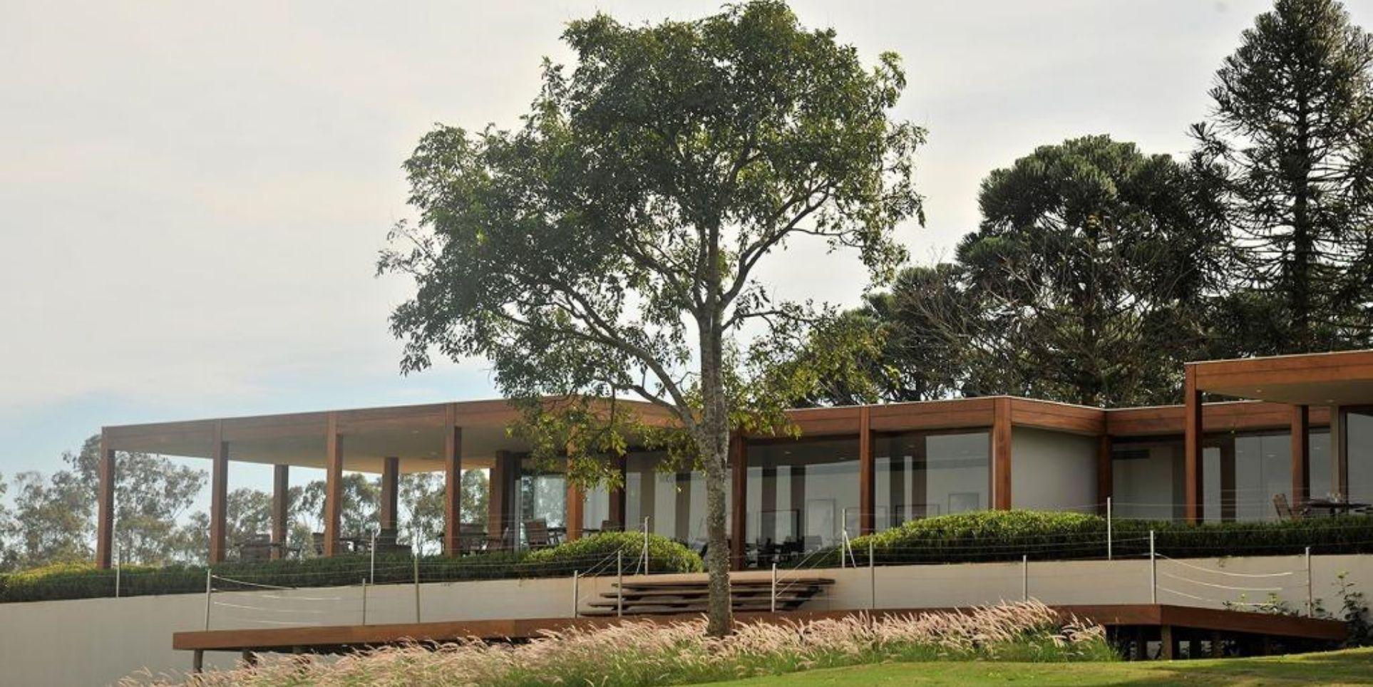 Sede do clube de Golfe da Fazenda Boa Vista