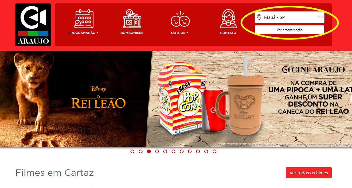 Mauá Plaza Shopping - Opções de compra e cinema - Site do Cine Araújo