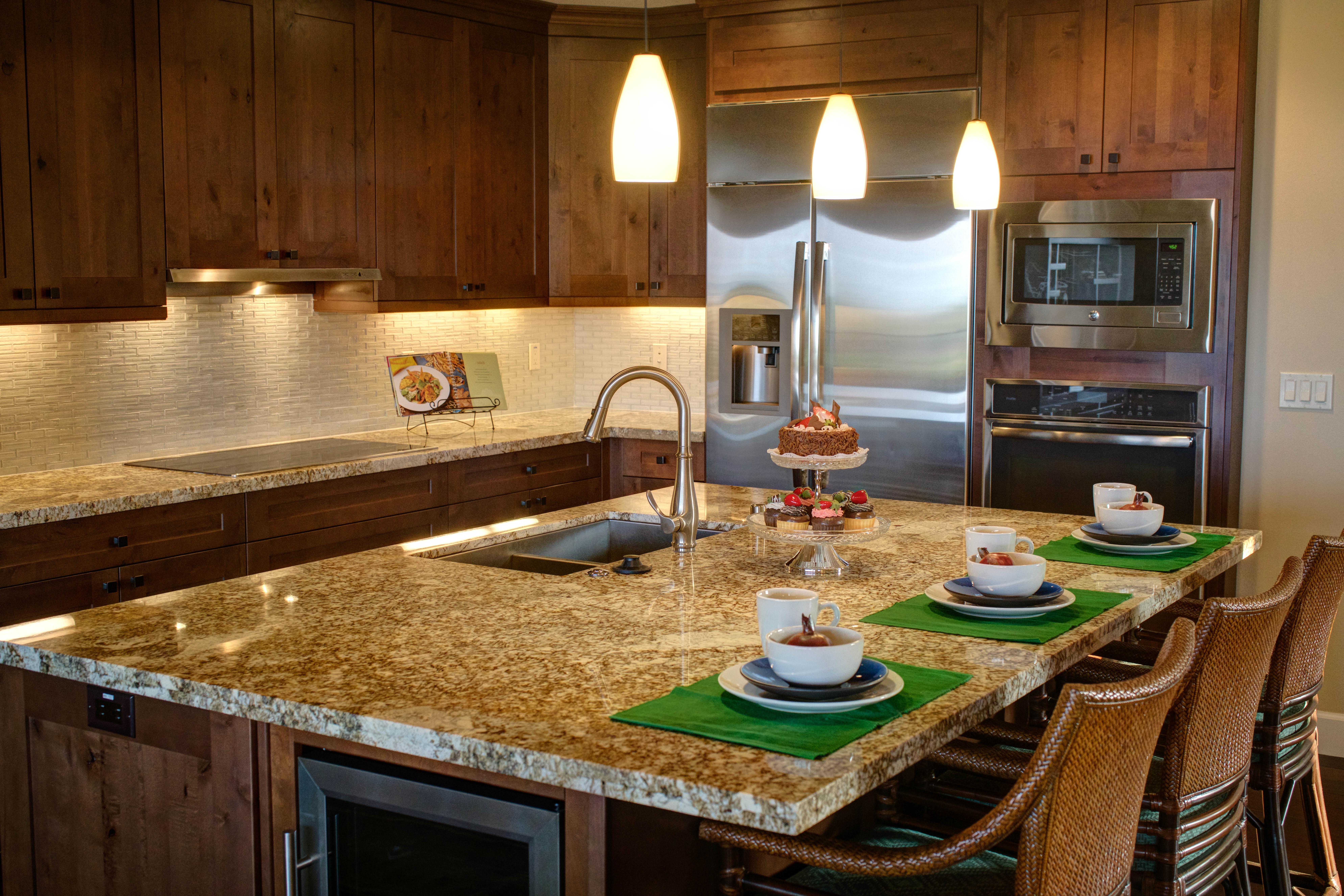 Decoração de cozinha planejada - Cozinha planejada com ilha