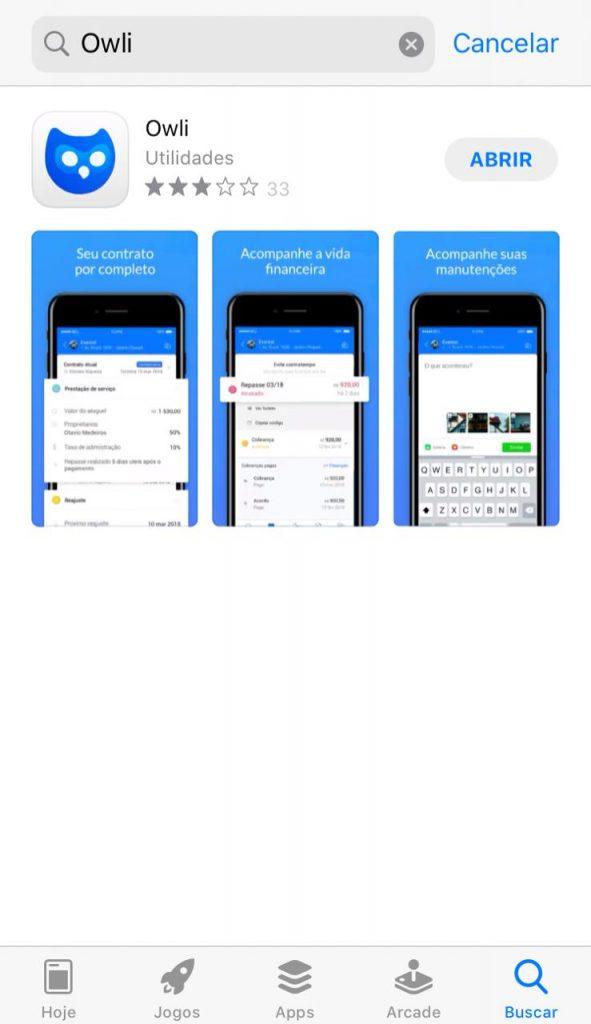 Passo a passo - Instalação app owli - Baixe o Aplicativo