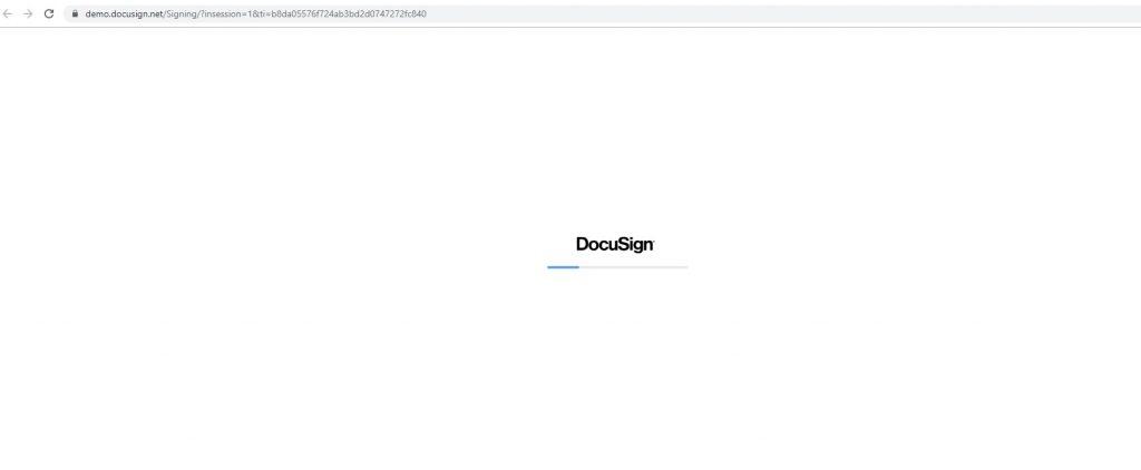 Passo a Passo - Assinatura eletrônica do contrato utilizando o e-mail - DocuSign