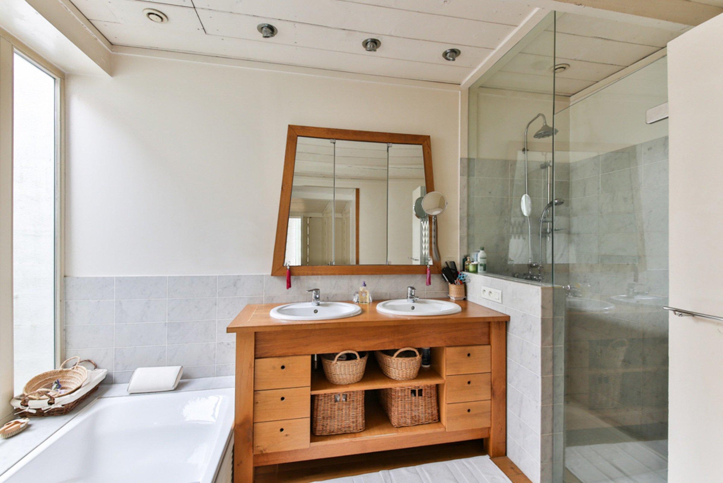 DECORAÇÃO DE CASA: DICAS PARA RENOVAR O AMBIENTE GASTANDO POUCO - Decoração de banheiro