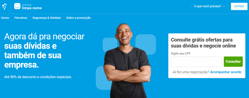 """REGULARIZAÇÃO OU RENEGOCIAÇÃO DE DÍVIDAS PARA SAIR DO """"NOME SUJO"""" - Limpa Nome Online"""