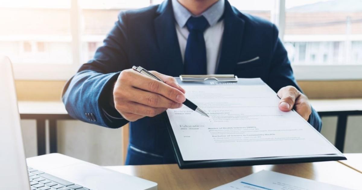 Assinatura para registro de imóveis