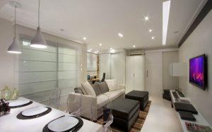 Ilumininação para apartamentos pequenos _ Silvana Carvalho Assessoria Imobiliária