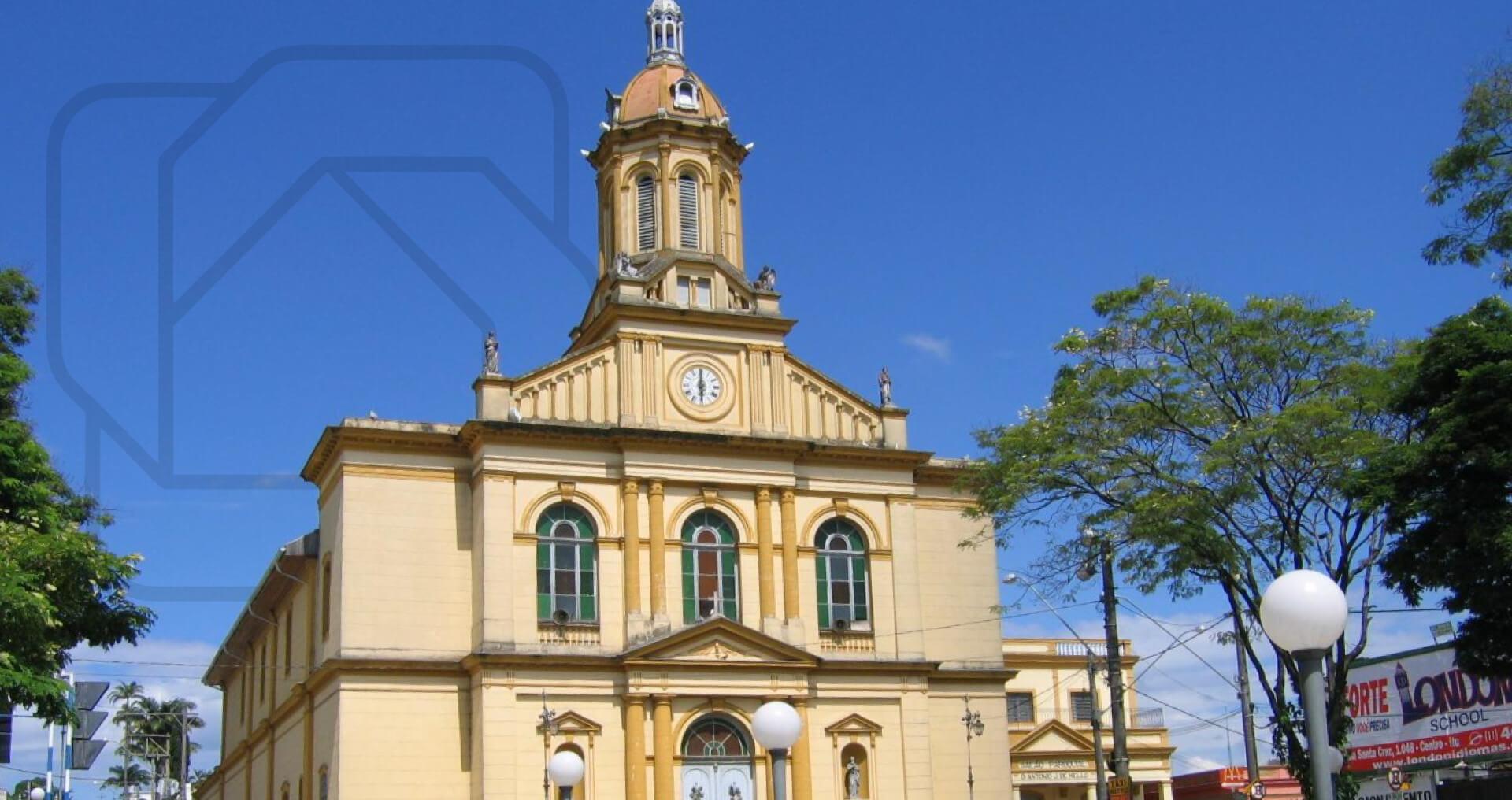 Igreja Matriz em Itu