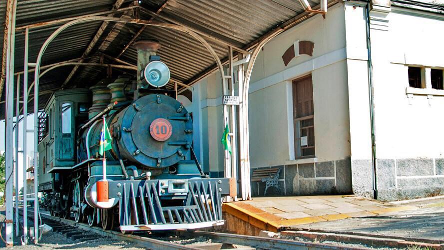 Museu Ferroviário em Indaiatuba