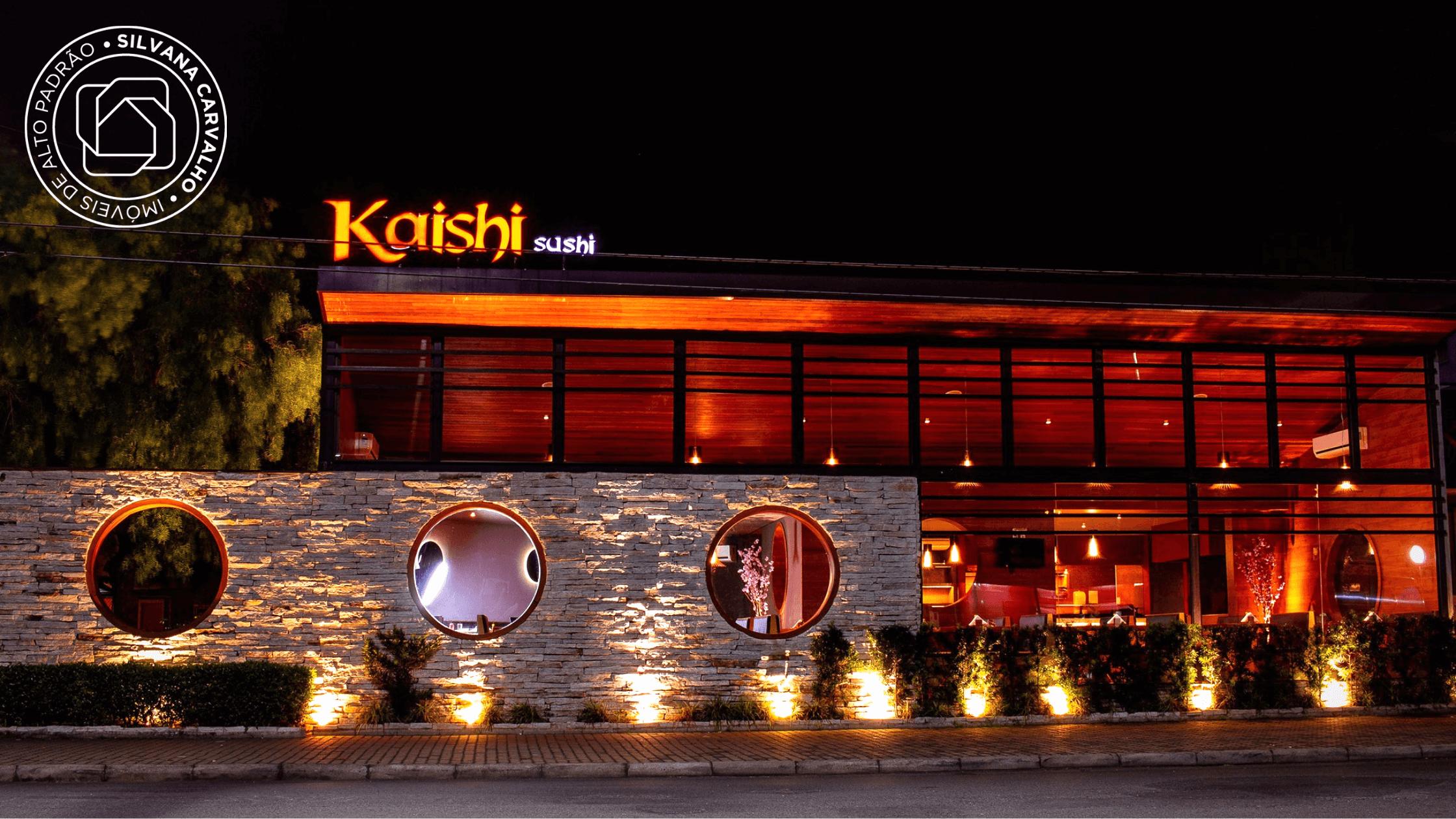 Restaurante Kaishi – (Foto: Página do Facebook Kaishi)