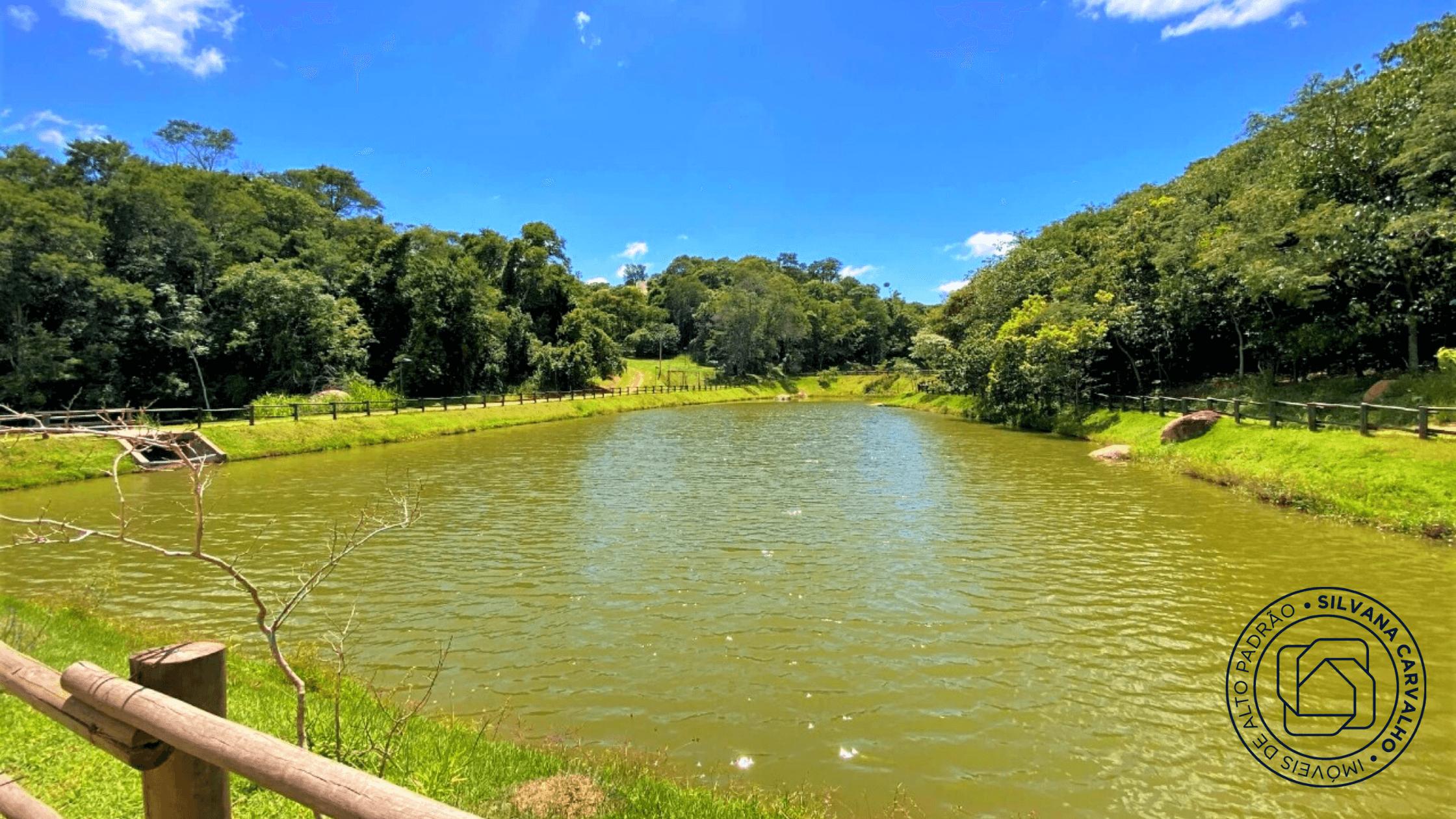 Lago do Condomínio Fazenda Kurumin